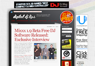Mixxx 1.9 Interview