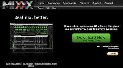 Mixxx Website