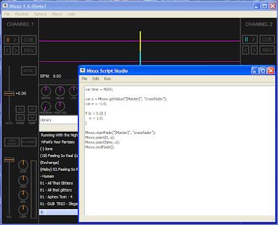 Mixxx Script Studio