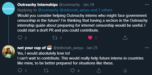 Outreachy wants to help future interns circumvent internet censorship