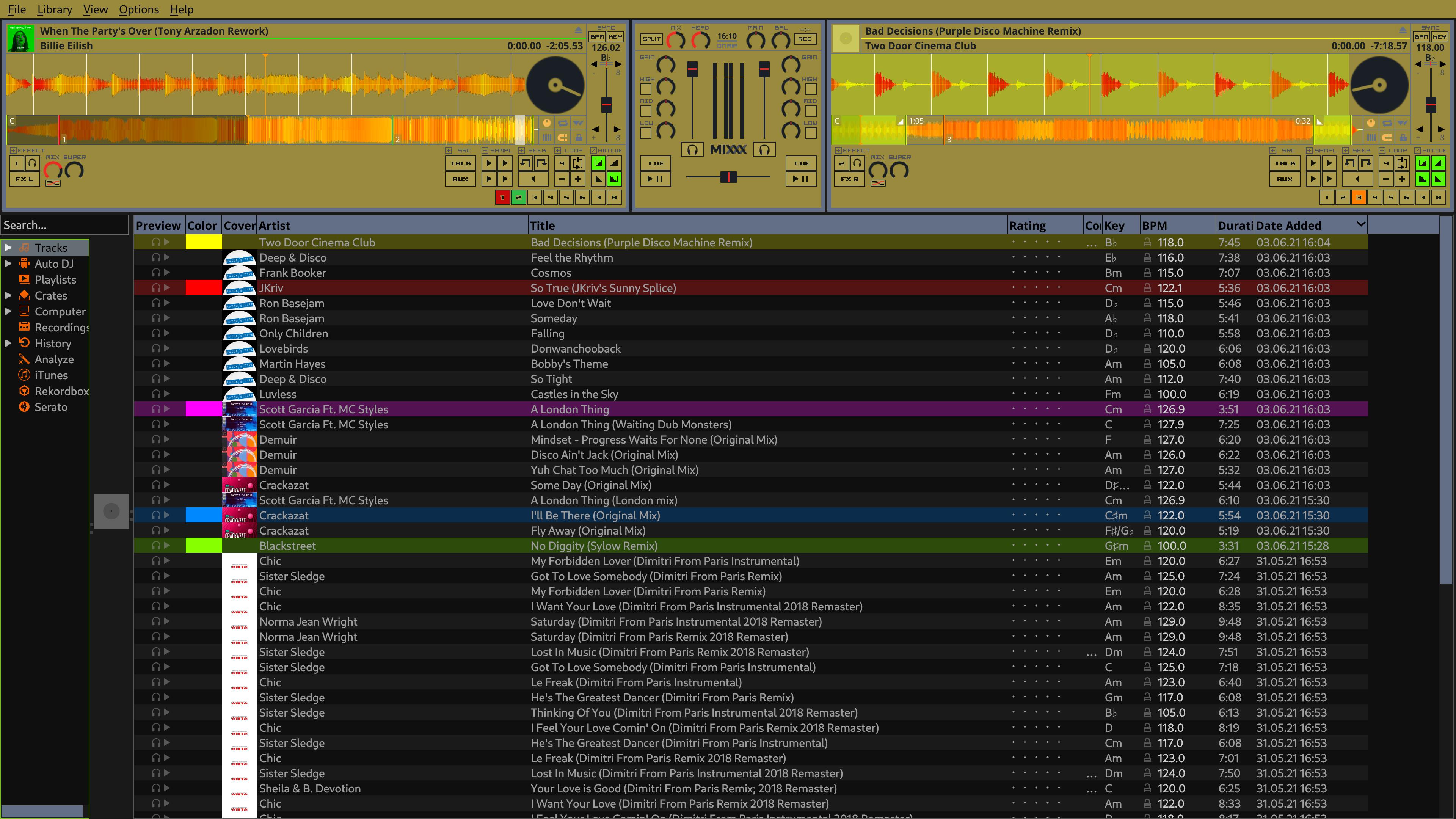 Mixxx x64 screenshot